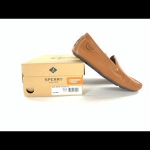 Men's Sperry Wave Driver Venetian Tan Loafers